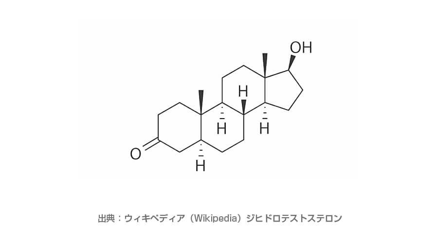 ジヒドロテストステロンの化学式